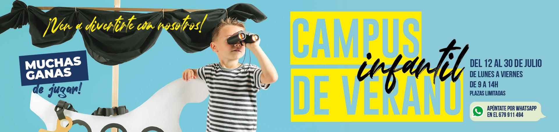 El mirador_campus infantil de verano_banner web